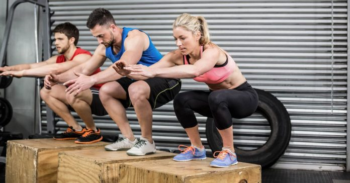 12 Step Box Exercises For A Full Body Workout