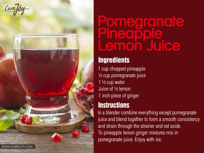 4.Pomegranate-Pineapple-Lemon-Juice