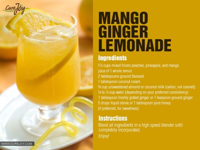 Mango-Ginger-Lemonade