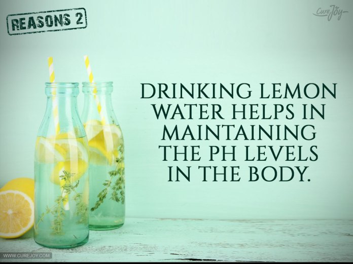 2-Drinking-lemon-water-helps-in-maintaining-the-pH-levels-in-the-body