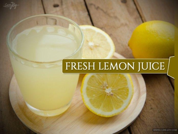 Fresh-Lemon-Juice: herbs to dissolve uric acid