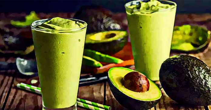 Avocado Smoothie And Juice Recipe