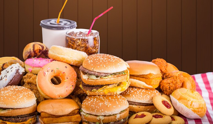 Avoid processed and junk food to reduce belly fat