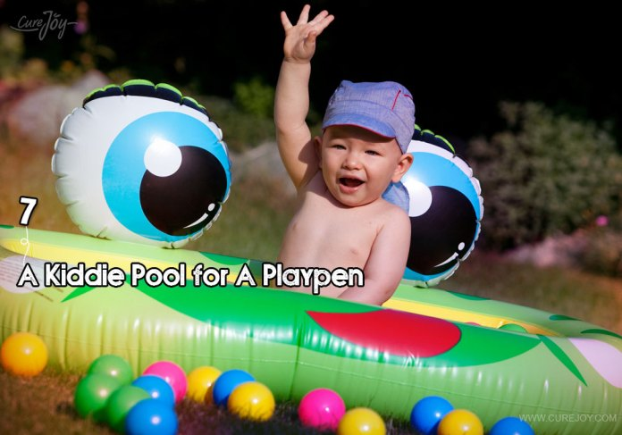 7-a-kiddie-pool-for-a-playpen