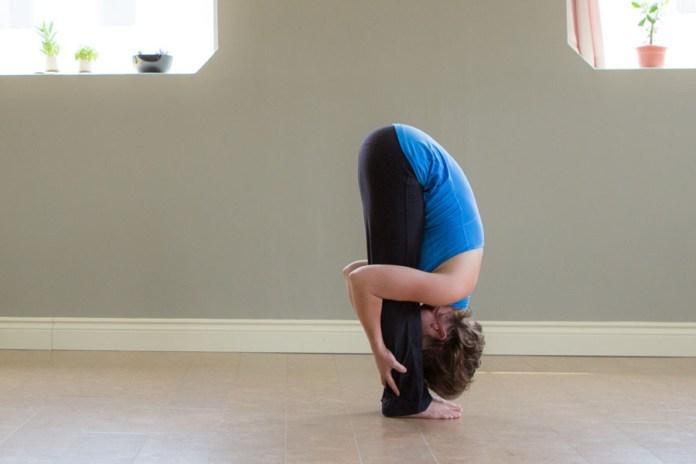 uttasana for posture correction