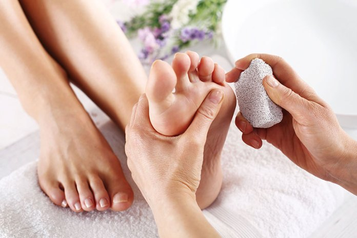 nail care-Pedicure At Home With Natural Ingredients