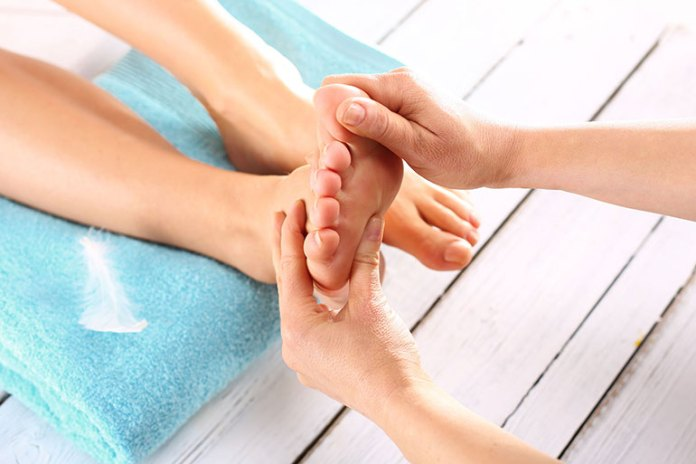 tired feet-Pedicure At Home With Natural Ingredients