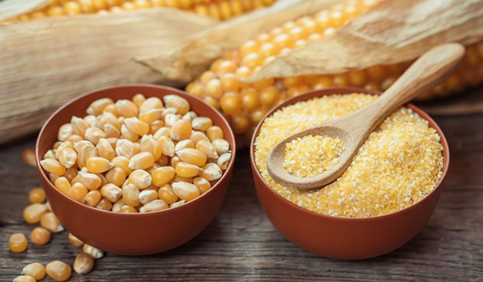 Corn contains carotenoids that protect the eyes from diseases