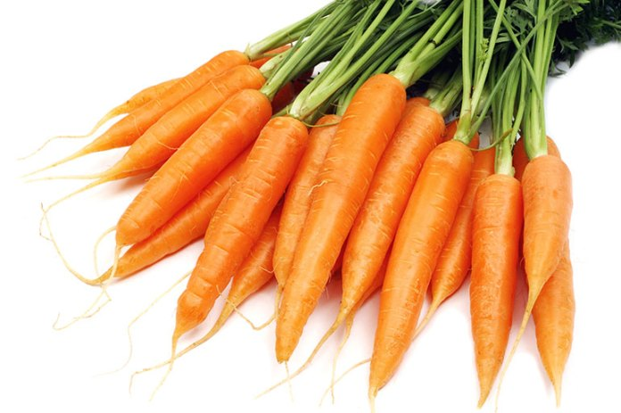 Carrots are good for eyes