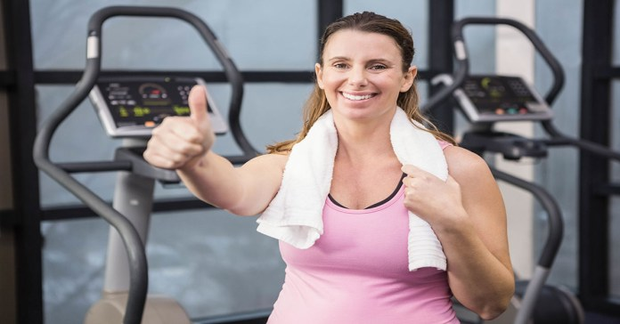Pregnant woman on treadmill: Top 7 Pregnancy Friendly Treadmill Fitness Tips For Moms