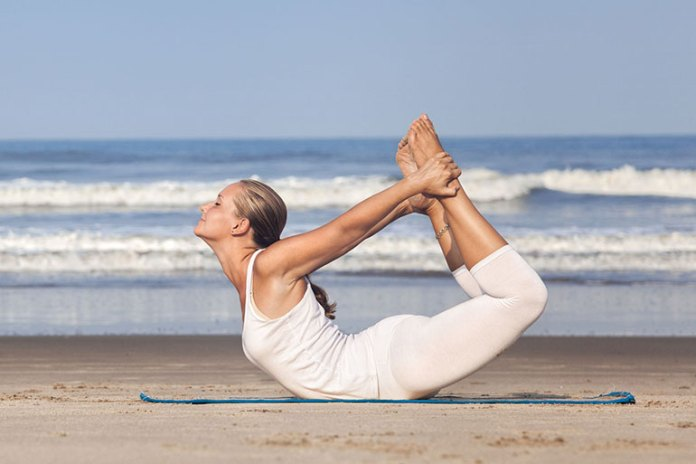 dhanurasana: best exercises to lose belly fat