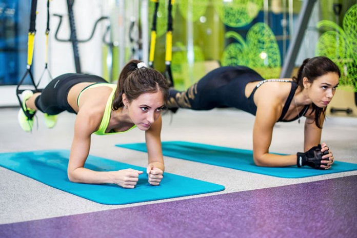 6 Total Body Suspension Workouts: Plank