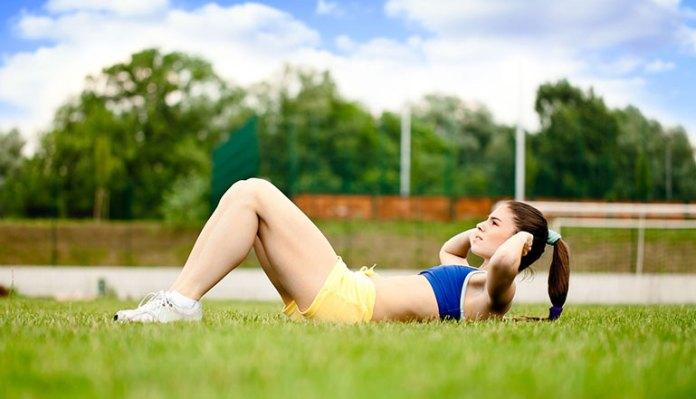 Sit Ups Exercise Induces Menstruation