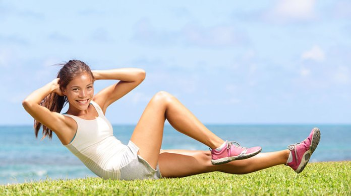 Twisted Crunches Exercise Induces Menstruation