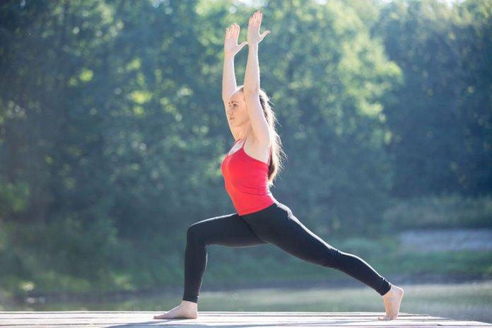Yoga Poses For A Vata Dosha Flow: Warrior Pose I