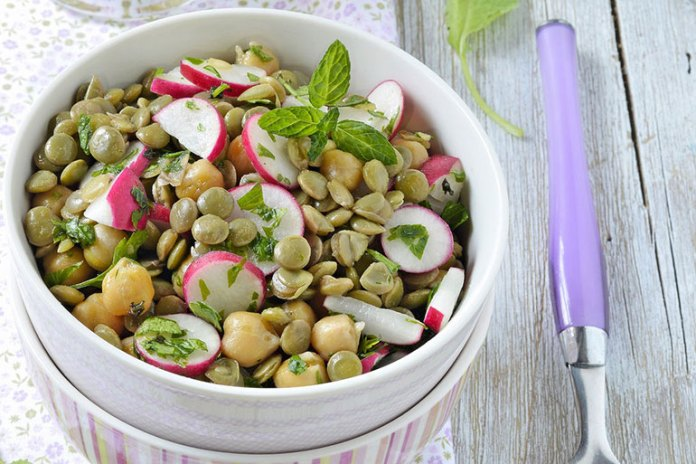 Recipe: Cold Lentil Salad