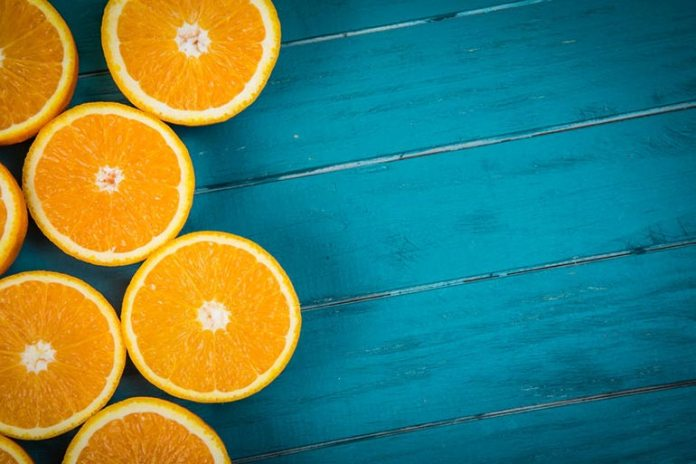 Orange contains vitamin C which prevents oxidative damage to the sperm cells.