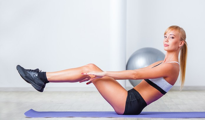 Exercises To Induce Menstruation Reverse Crunches