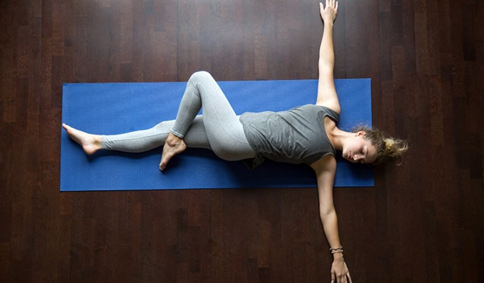 Supine Spinal Twist (Supta Matsyendrasana)_Yoga Asanas For Upper, Middle, and Lower Back Pain Relief