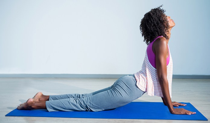 The Cobra (Bhujangasana)_Yoga Asanas For Upper, Middle, and Lower Back Pain Relief