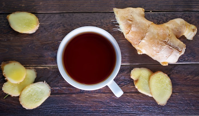 Ginger Tea Can Prevent Vomiting