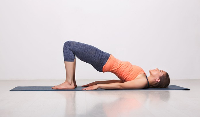 Bridge pose helps treat vertigo patients