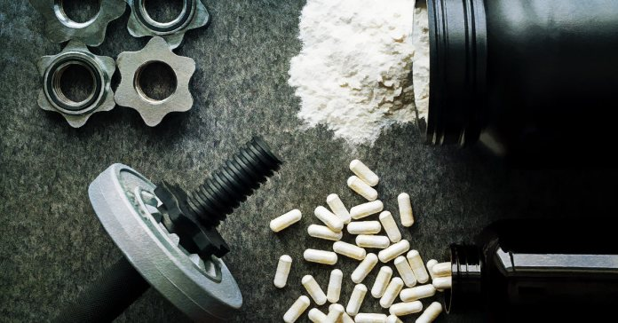 Creatine is a natural organic acid that helps build body mass