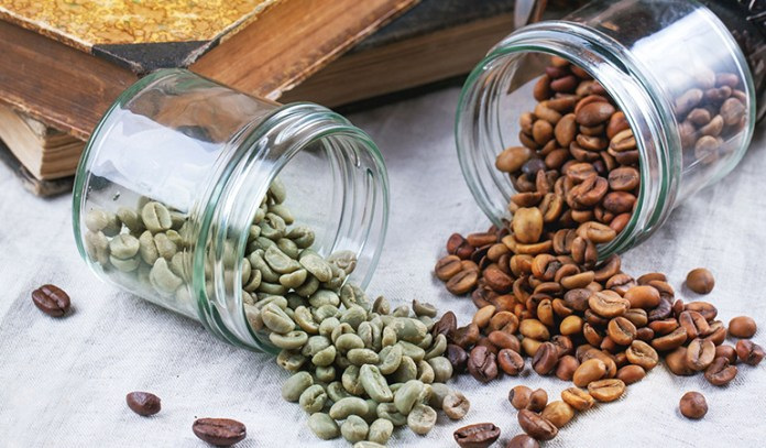 Decaffeination of coffee is done with the help of water and a solvent such as CO2 or ethyl acetate
