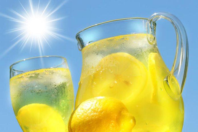 Natural Drinks For Migraine Headache: Lemon Water