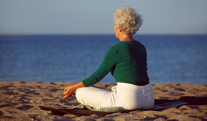 Meditation helps in keeping the brain cells healthy