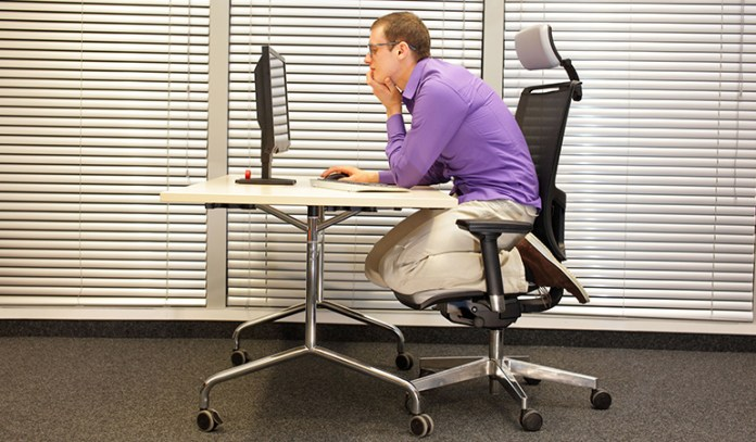 Poor Posture Causes Coccydynia