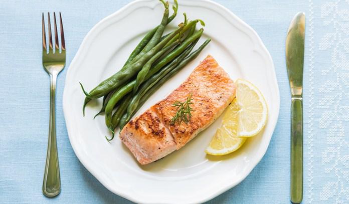 hormone balancing foods Salmon