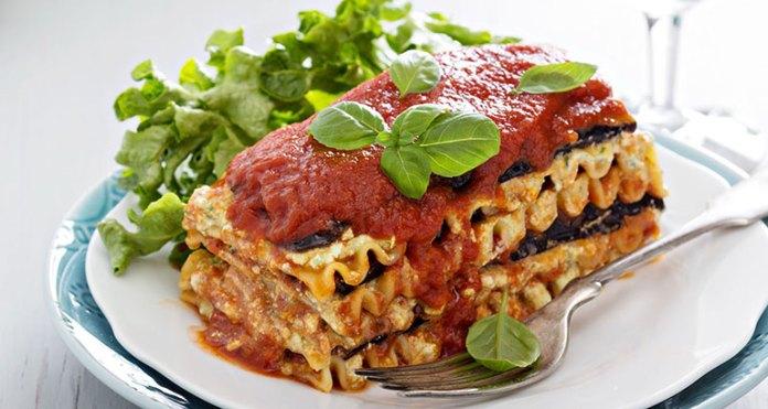 Sausage And Eggplant Lasagna Is An Alternative For Regular Lasagna