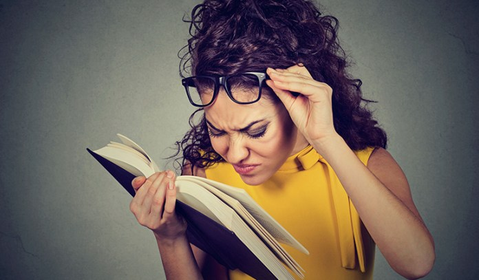 Trouble With Reading Is A Symptom Of Diabetic Macular Edema