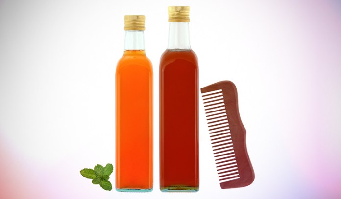 Apple cider vinegar is beneficial for your hair