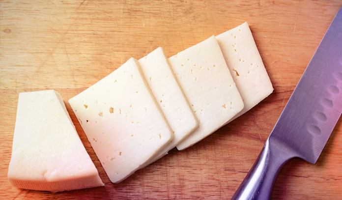 cheese slices are portable and rich in protein
