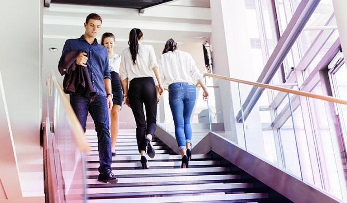 Compete With Your Co-Workers For Most Steps Taken