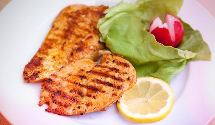 Turkey breast is low in calories