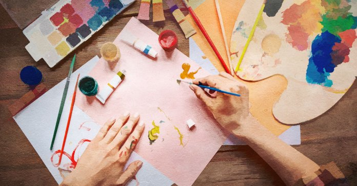Health Benefits Of Painting And Drawing.