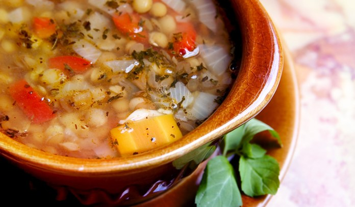 Lentil soup can boost energy