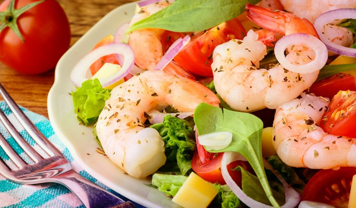 Shrimps is a source of astaxanthin