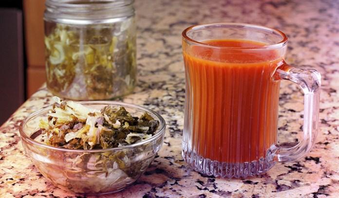Kimchi and sauerkraut are popular probiotic foods.