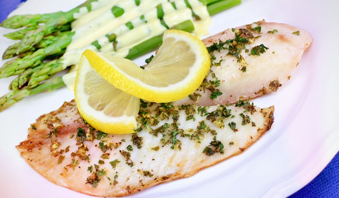Tilapia is a great source of protein