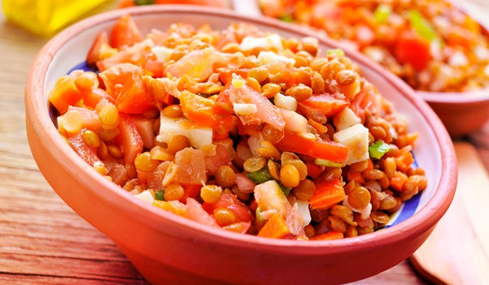 Lentils are rich in protein