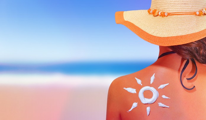 Sun screen can reduce sun damage