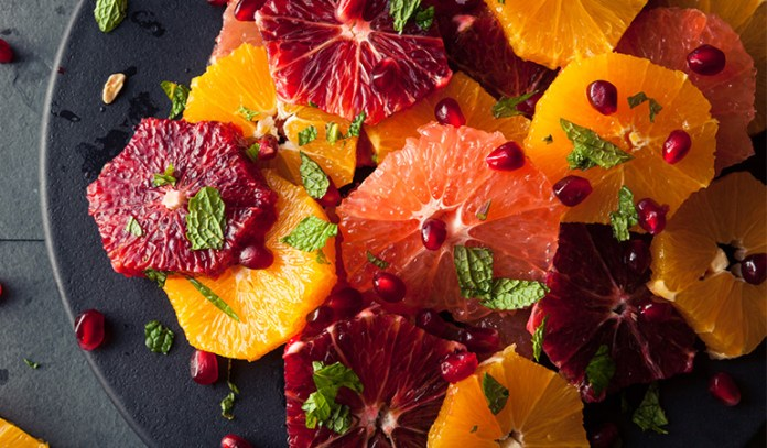 citrus fruits have low calories and aid in weight loss