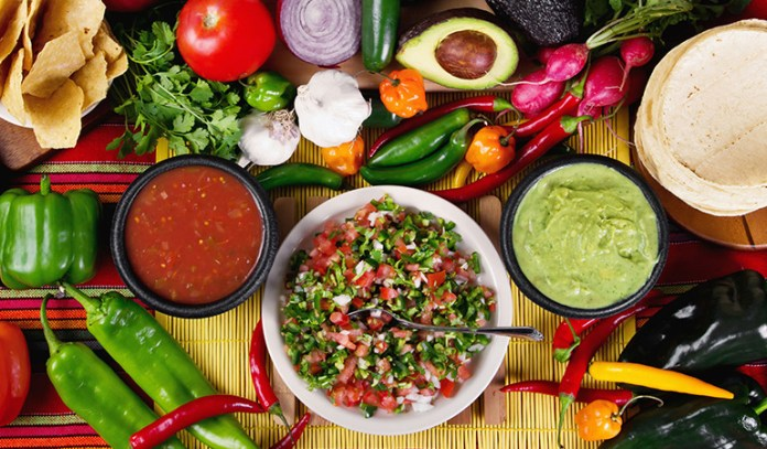 use vegetables and proteins as fillings
