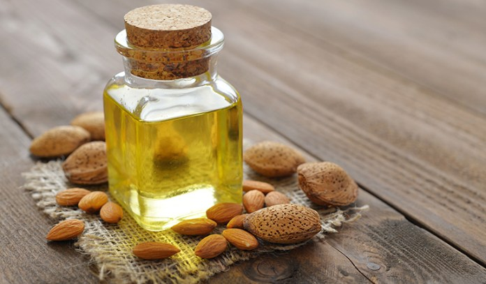 Almond oil is good for the voluminous growth of eyelashes