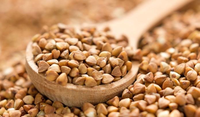 gluten-free buckwheat is rich in fiber