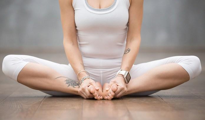 Yoga poses for older beginners Butterfly Pose Badhakonasana